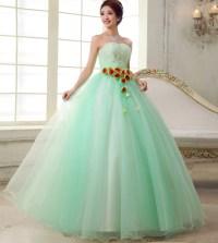 Popular Mint Green Quinceanera Dresses-Buy Cheap Mint ...