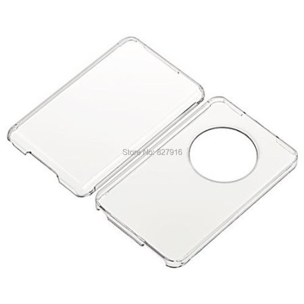 Clear Hard Plastic Case Skin Cover For Apple iPod Classic