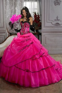 Fashion Sweetheart Beading Quinceanera Dresses Masquerade ...