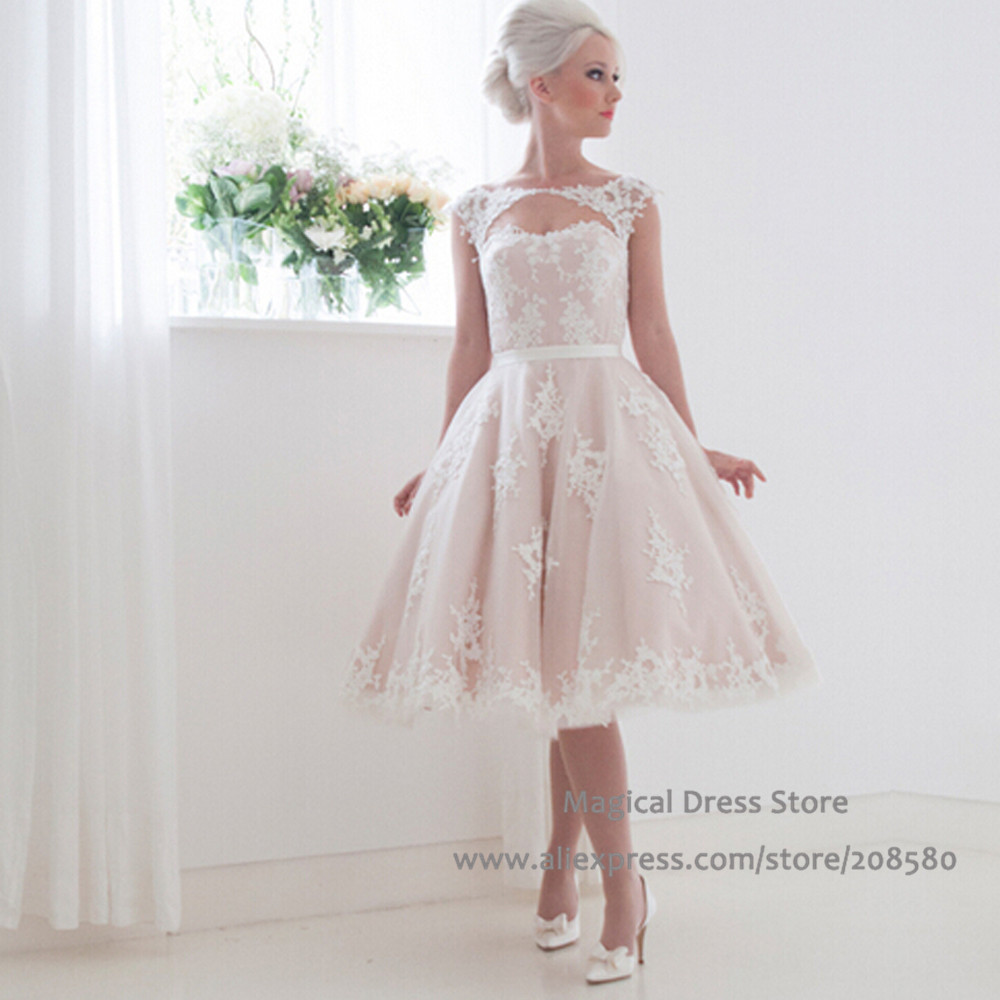 Image result for a line blush wedding dress