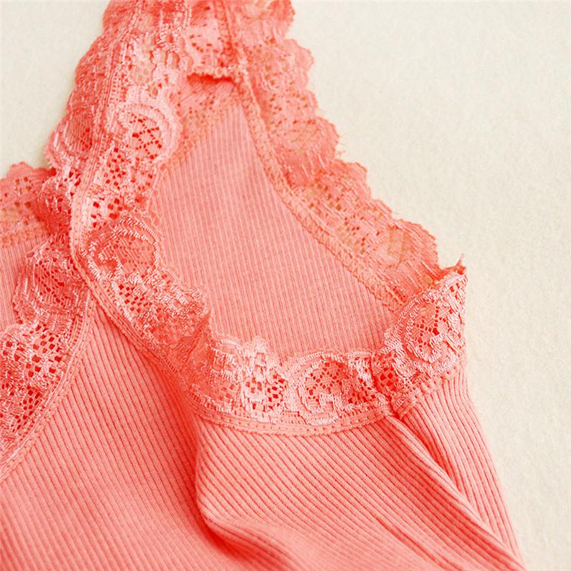 9d50bdcaa ᐂ2018 Moda Verão Encabeça Camiseta Femme Sexy Lace Top Blusas ...