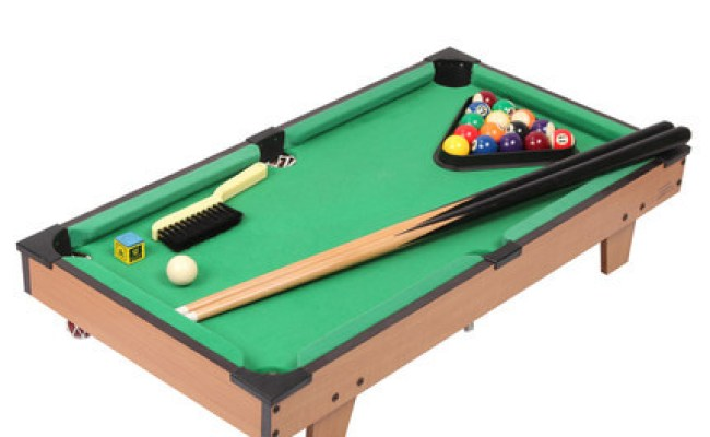 27 Classic Mini American Pool Table Billiard Tabletop