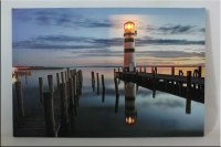 Seascape decorative,wholesale led canvas painting with ...