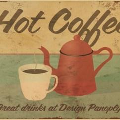 Vintage Posters For Kitchen Step Stools Online Kaufen Großhandel Cafe Stil Küchen Aus China