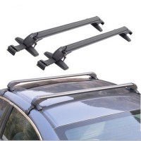 2 Piece Universal Car Roof Rack Cross Bar Anti theft Lock ...