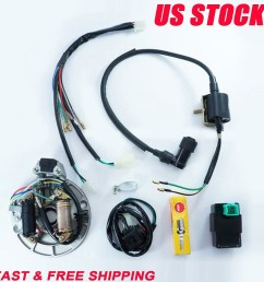 detail feedback questions about tdpro 50cc 110cc 125cc motorcycle cdi coil stator magneto plug wire harness loom fits 50cc 110cc 125cc pit dirt bikes on  [ 1100 x 1100 Pixel ]