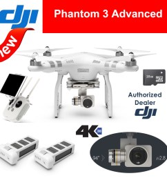 2016 dji phantom 3 professional drone with 4k 1080p hd  [ 1000 x 1000 Pixel ]