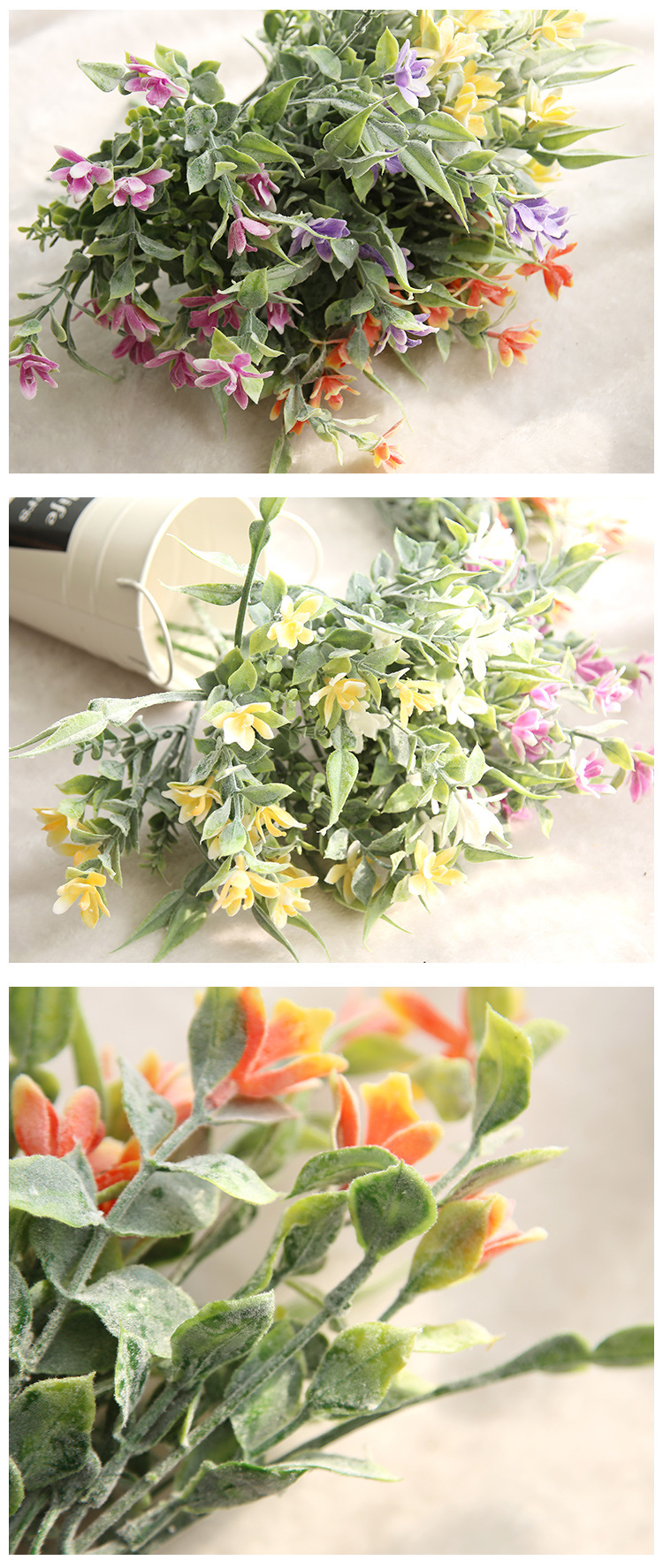 1pc Artificial Cymbidium Orchids Flowers For Home Decoration