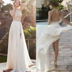 Lace High Low Prom Dresses