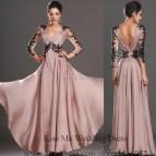 Elegant Long Sleeve Evening Dresses