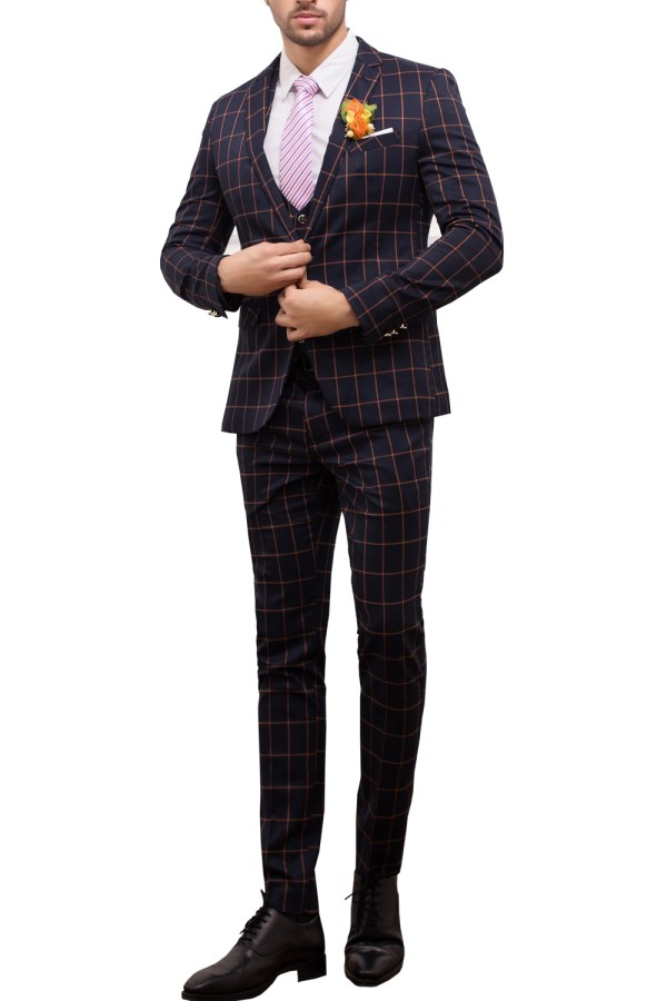 Three-Piece Suit Casual
