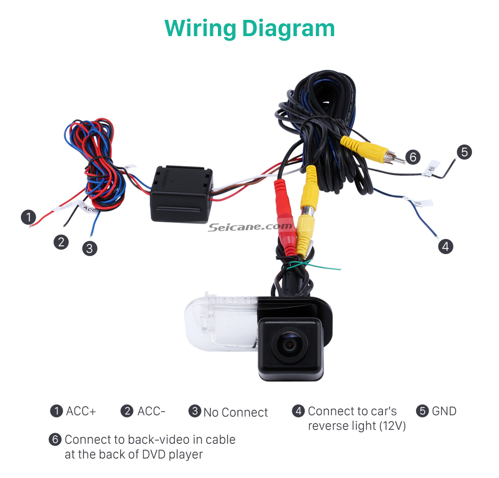 Hd Wired Car Parking Backup Reversing Camera For 2008 2011 Mercedes Benz A160 Wiring Diagram B200 Waterproof Lr Logo Night Vision Free Shipping