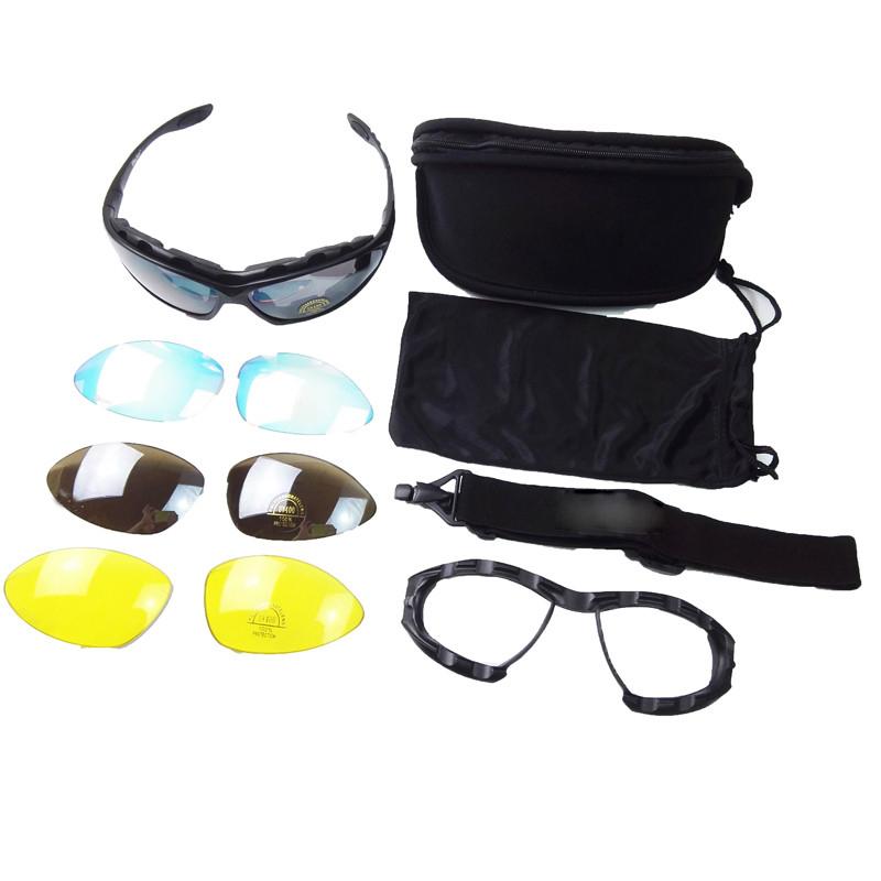 4c0c26cdc667c ᓂAlta Qualidade C4 Crossbow Óculos Óculos de Proteção Táticos ...