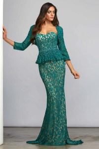 Emerald Green Mother of Bride Dresses