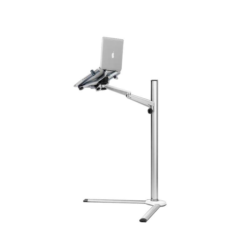 -8-תכליתי 3in1 המחשב קומה לעמוד על כל מחשב נייד/מחשב לוח/טלפון חכם בעל גובה/זווית מתכווננת עם העכבר מגש
