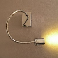 Hard wired Study Wall Lights Flexible alumimum gooseneck ...