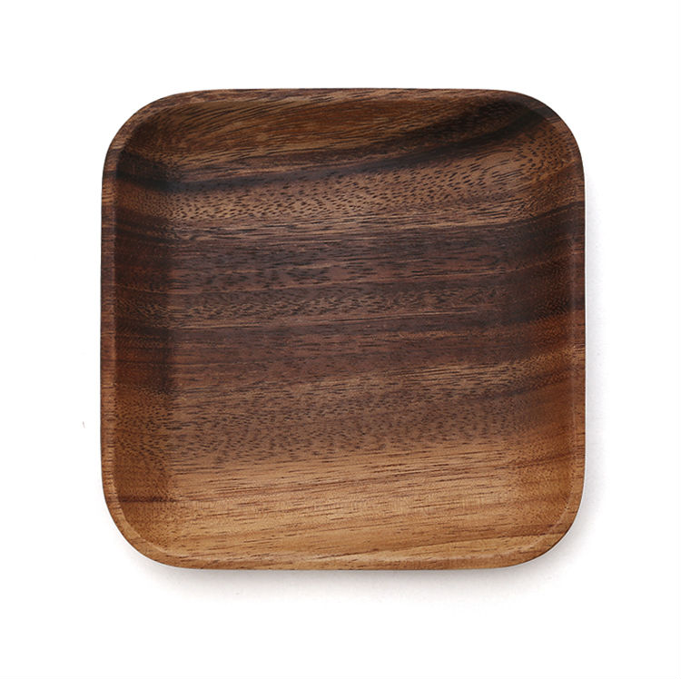 ... Set of 2 Square Wooden Plates High Quality Acacia Wood Dishes Serving Trays Premium Hardwood Dishes ...  sc 1 st  Google Sites & \u20a9 Set of 2 Square Wooden Plates Premium Acacia Wood Square Cake ...