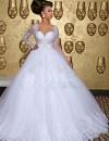 Aliexpress.com : Buy Long Sleeve Lebanon Wedding Dress ...