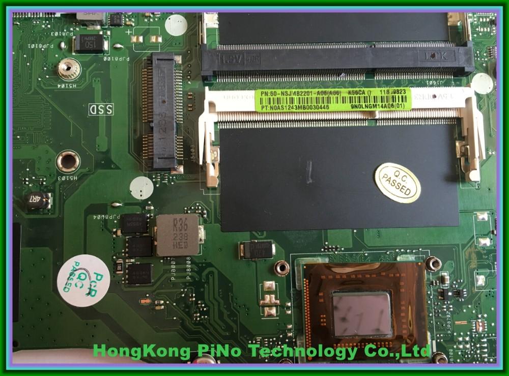 משלוח חינם K56CA לוח אם Asus K56CA מחשב נייד לוח אם 60-NSJMB2201-A06 נבדקו באופן מלא