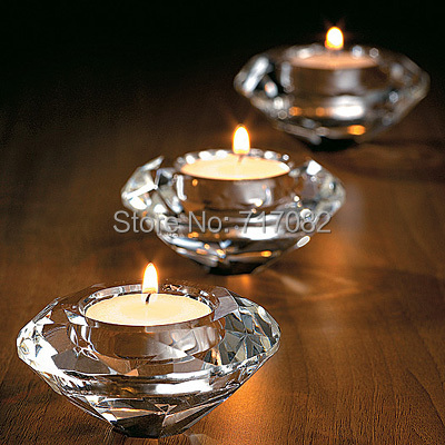 Free Shipping By Dhlfedexups K9 Crystal Candle Holders Tealight