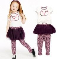 2015 Summer Kids Girls Clothing Set Baby Girl Hello Kitty ...