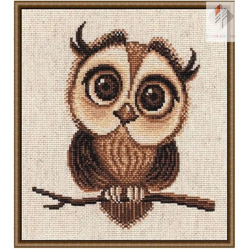 Acquista allingrosso Online owl punto croce da Grossisti