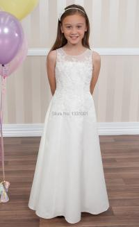 Long Beach Flower Girl Dresses For Wedding 2015 New Girls ...