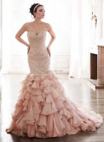 4ade930a781d8 Blush Pink Mermaid Wedding Dress - Year of Clean Water