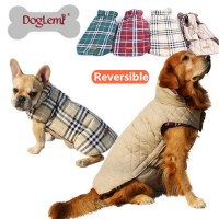 2016 Small to Large Dog Clothes Winter Warm Reversible Dog