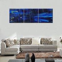Abstract Building Original HD Canvas Print home decor wall ...