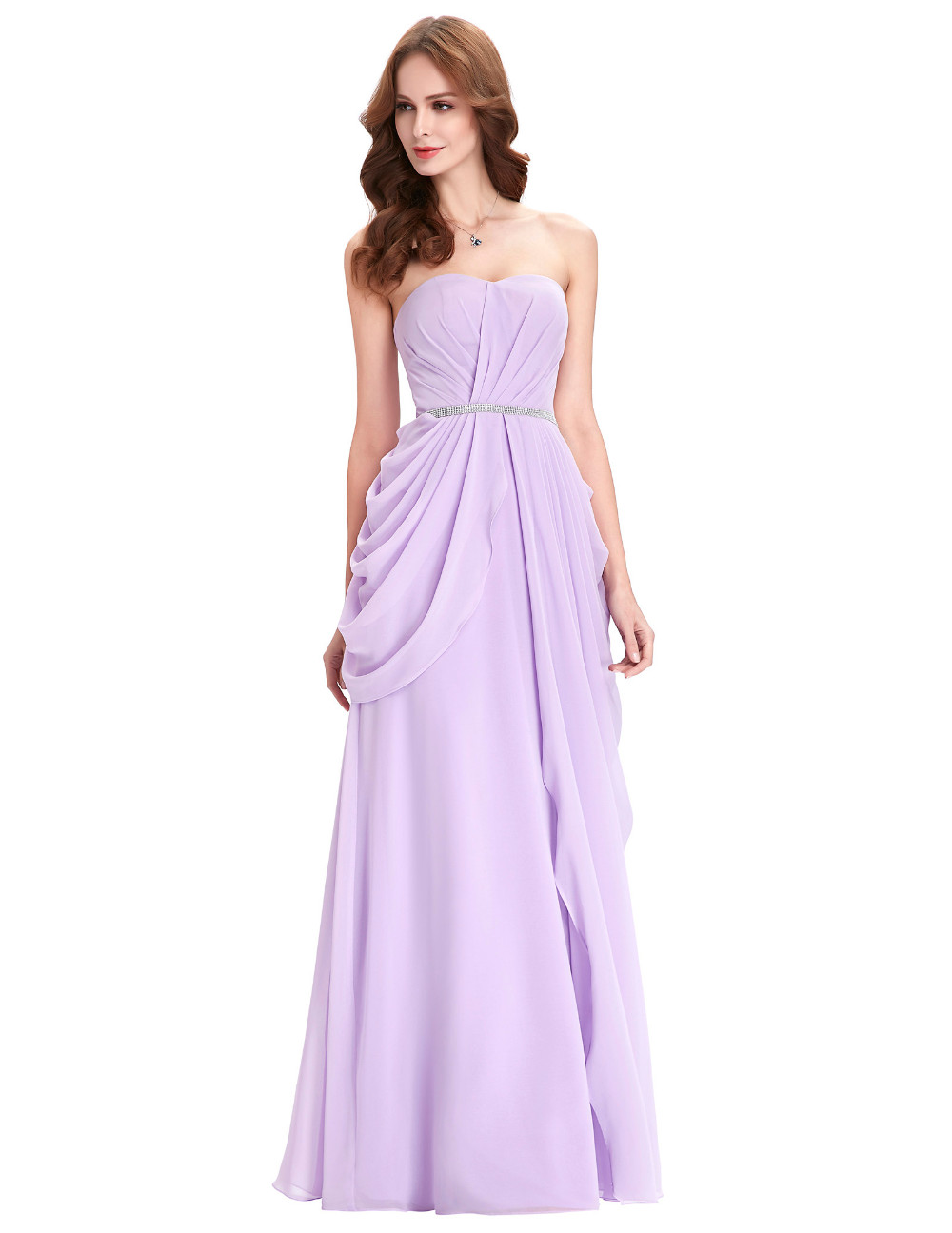 Asombroso Vestidos De Dama De Color Púrpura Oscuro Galería ...