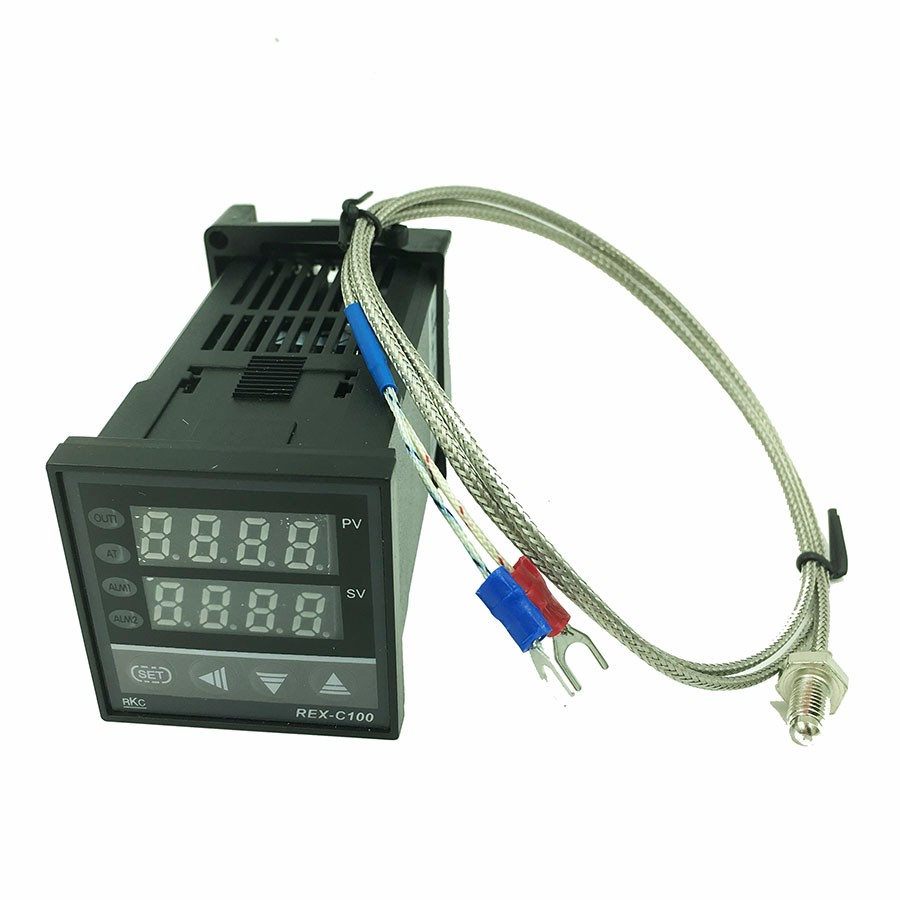 Rex C100 Digital Pid Temperature Control Controller Thermostat Wiring To The External Shielding Insulated Package Contents 100 Brand New 1 X K Type Probe Sensor