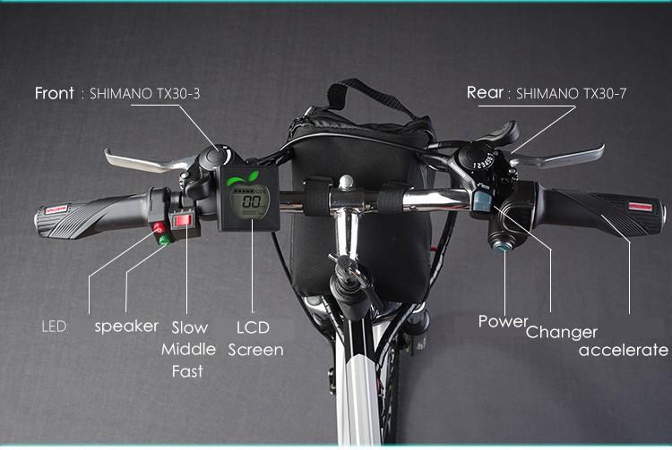 HTB1CcyXNFXXXXcYXVXXq6xXFXXXx - Authentic X-Entrance model 21 velocity 26 inch 20A 48V 500W Lithium Battery Electrical folding Mountain Bike downhill Bicycle ebike