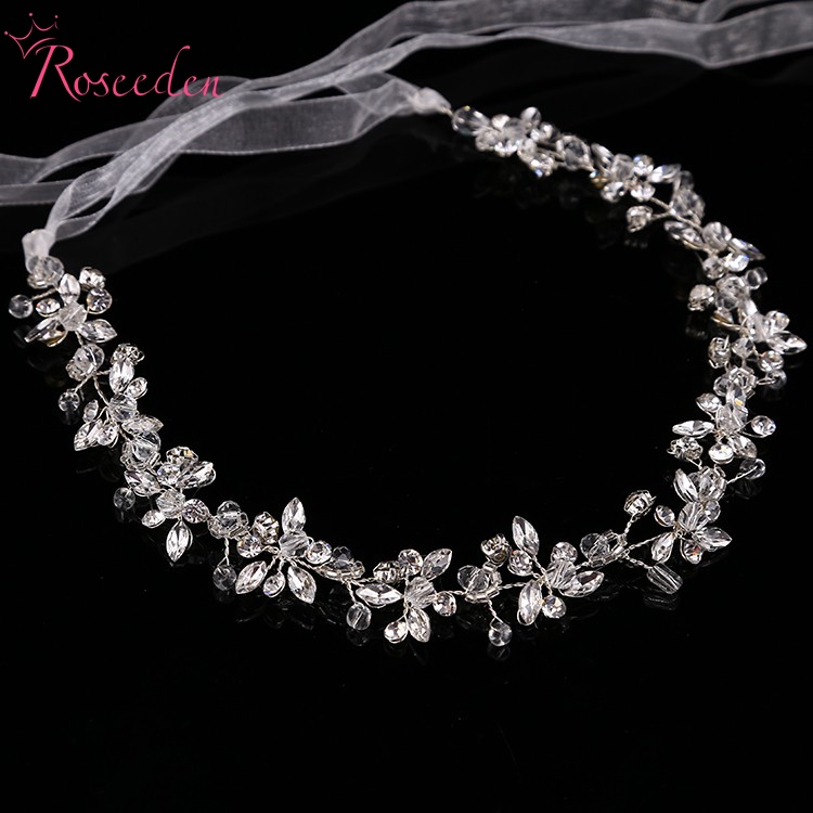 Popular Crystal Headband Wedding Buy Cheap Crystal