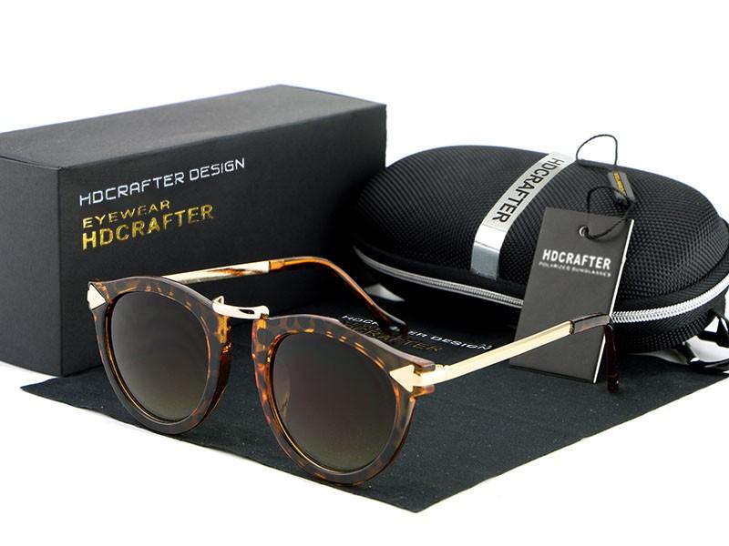 b83080b411a29 Óculos de sol para Mulheres Homens Retro Óculos Redondos Metal Frame Perna  Óculos 5 Cores Dos Óculos De Sol