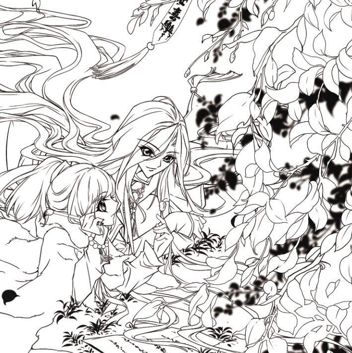 ٩(^‿^)۶Las Maravillas itinerancia libro para colorear jardín secreto ...