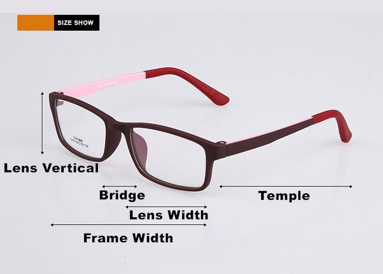 2648c44bb10ed ①5 peças Mulheres Armação Dos Óculos Full-Rim Óculos de Leopardo ...