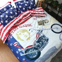 Boys Motorcycle Bedding Promotion-Shop for Promotional ...