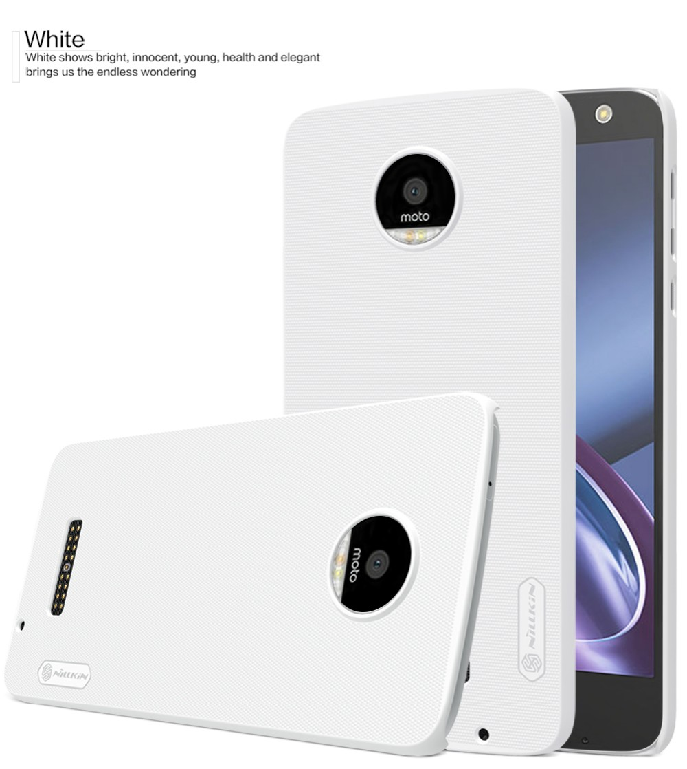 Phone Case For Motorola Moto Z Original Nillkin Frosted Shield Hard Meizu M3s Pc Display Pro Prime Free Screen Film With Retail Package