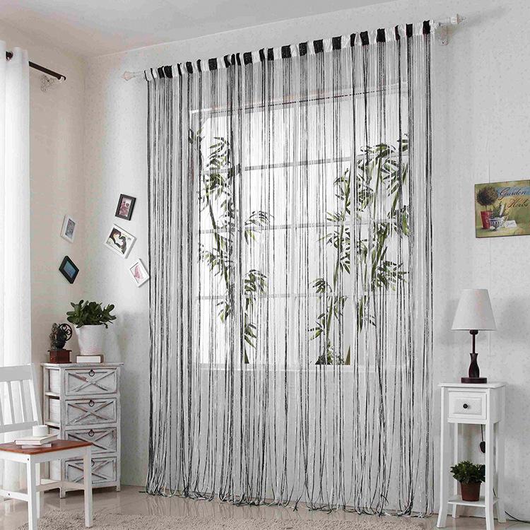 Compra blanco y plata cortinas online al por mayor de