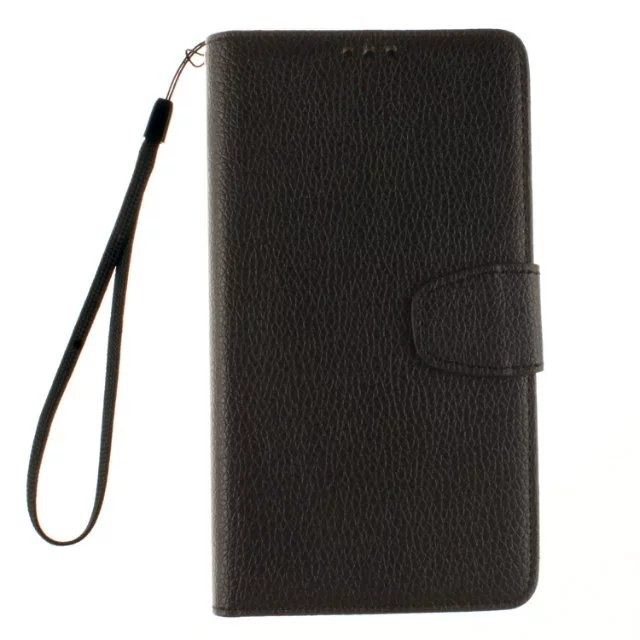 Litchi Skin Wallet Card Flip Funda Brand Case For Lenovo A6000