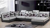 8328# Living room sofa sets fabric soft corner sofa sets ...