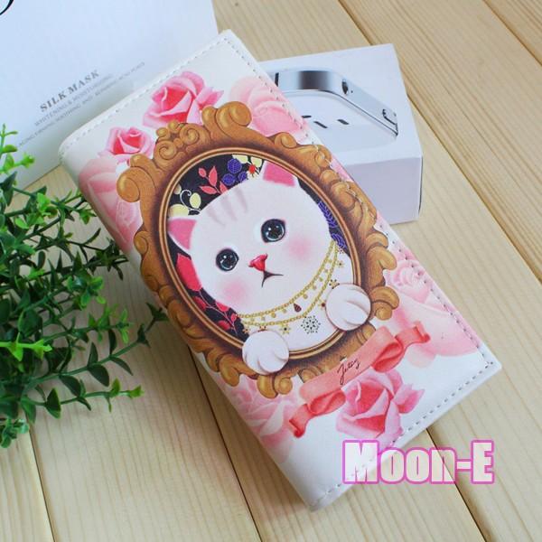a0137a4d4ef60 ᐊNeue Mode damen Brieftaschen Marke Design Katzen Tier Muster ...
