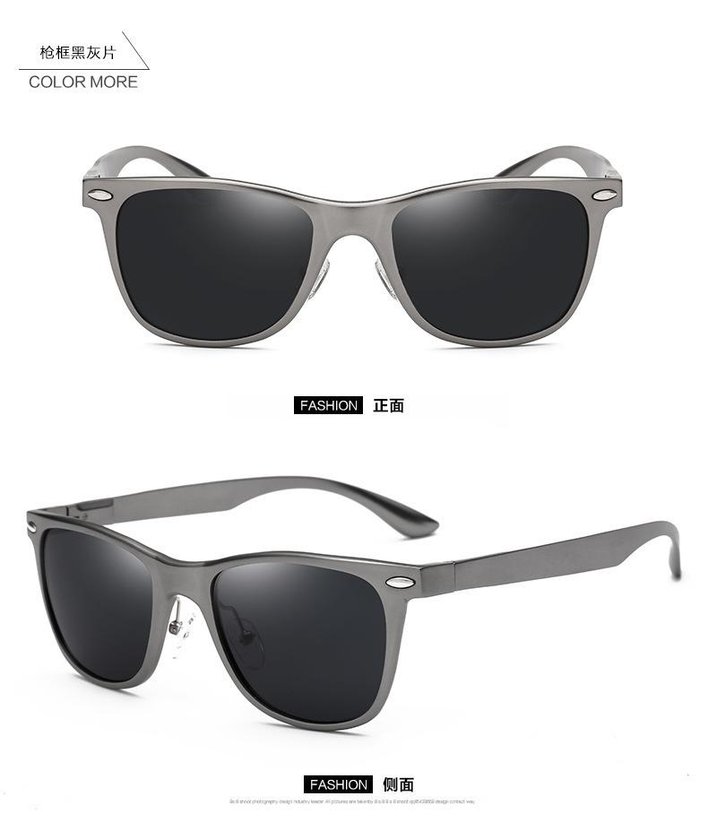 Custodia per occhiali da sole a conchiglia trasparente trasparente per occhiali da vista portatile (fondo blu) ehbyG