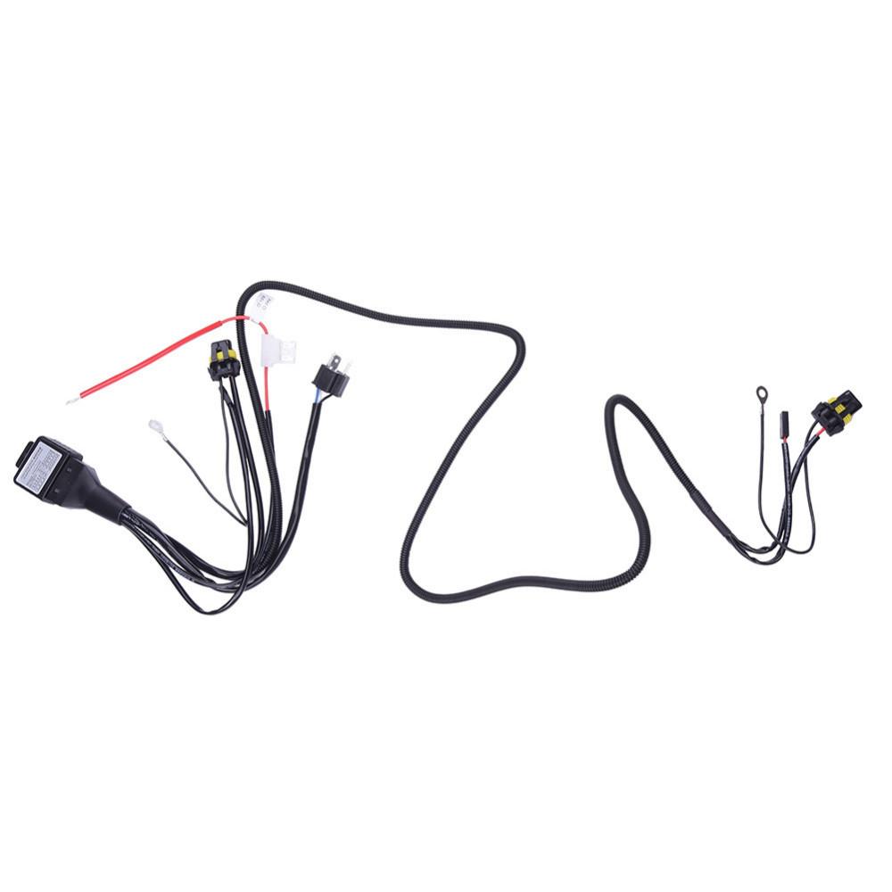 hid wiring harness installation