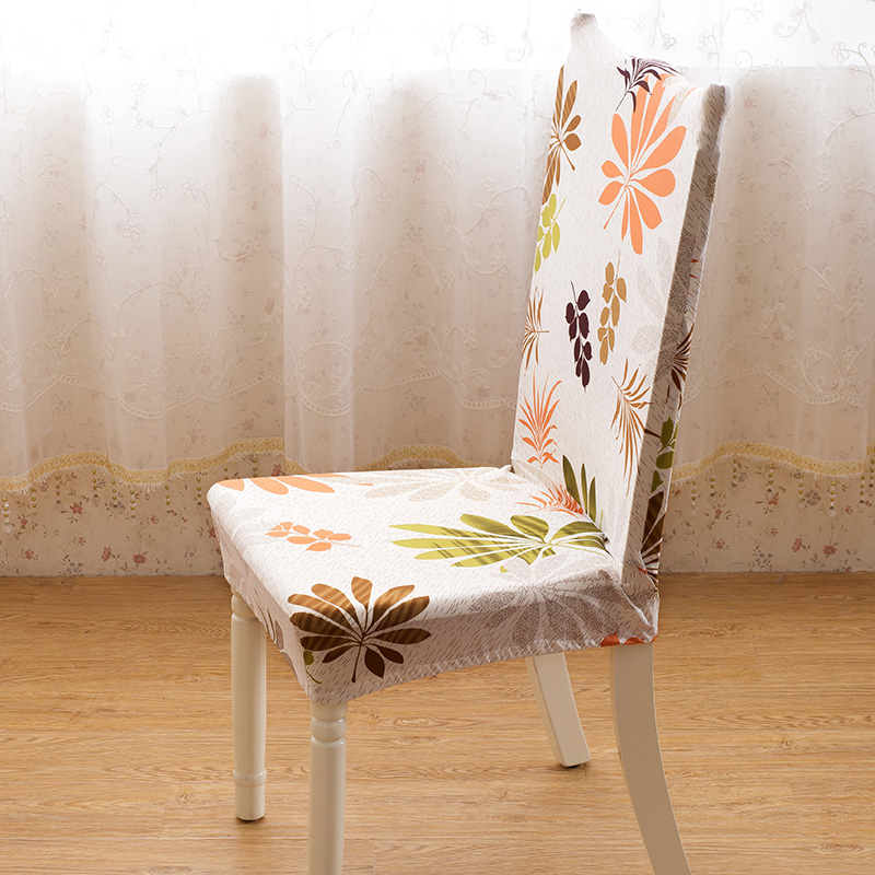 Dining Room Jacquard Poyester Spandex Fabric Chair Covers