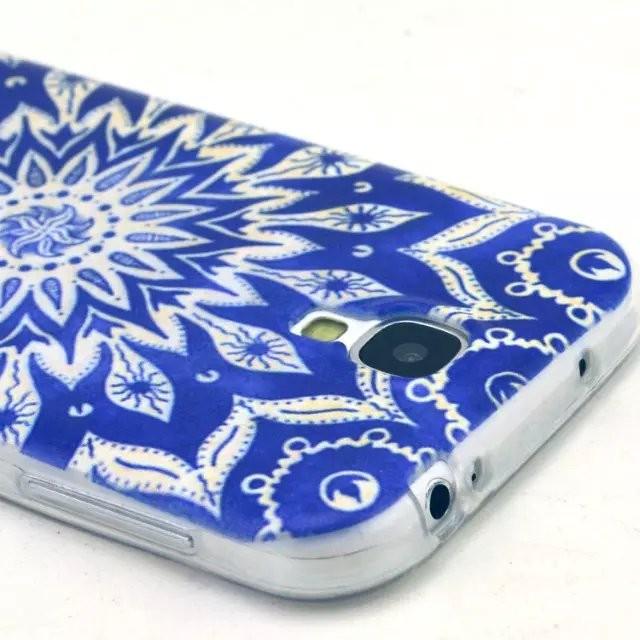 22 סגנונות התרבות האצטקית אוסף מעוצב יפה סיליקון ג ' ל הכיסוי האחורי הדפסה Case for Samsung Galaxy S4 Fundas קאפה Coque