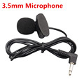 High Quality Special Black Hands Free Clip on 3 5mm Mini Studio Speech External Microphone For