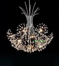 modern crystal lighting chandelier living room modern led ...