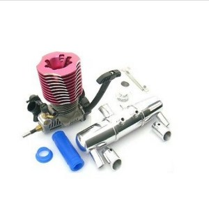 18 scale RC Nitro 28RR Engine wTuned Pipe Muffler for